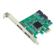 IOCrest PCI-E 1 Interface 4-PortSATA Controller Card w/ 88SE9215 Chipset
