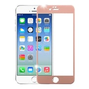 Insten 3D Curved TItanIum Alloy Full Coverage Tempered Glass Screen Protector For IPhone 6/6s, Rose Gold