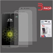 Insten 3-Pack Clear Transparent LCD Screen Protector Film For LG G5