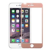 Insten 3D Curved TItanIum Alloy Full Coverage Tempered Glass Screen Protector For IPhone 6 Plus/6s Plus, Rose Gold