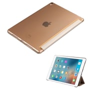 """Insten Book-Style Leather Fabric Case w/stand For Apple iPad Pro (9.7"""") - Gold"""