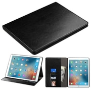 "Insten Flip Leather Fabric Case w/stand/card holder/Photo Display For Apple iPad Pro (12.9"") - Black"