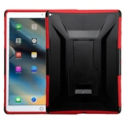 "Insten 2-Layer Full body Rugged Hybrid Protective Hard PC/Silicone Case with Stand For iPad Pro 12.9"" (2015) - Black/Red"
