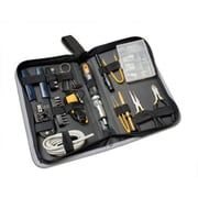 Syba 65 Pieces Computer Tool Kit Slim Zipped Case All in One Multi-Function