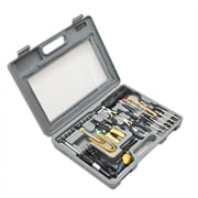 Syba 56 Pieces Computer Tool Kit Heavy Duty Molded Case w/ Clear Cover Compact
