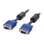 Connectland 30m 96ft 90' VGA HD15 Male to Male Ferrite Cores Nickel Plated