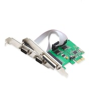 IOCrest PCI-E Combo Card w/WCH382 Chipset and Low Profile Bracket