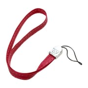 """Insten Red Leather Hand Wrist Lanyard Strap (7.5"""" inch, Pack of 5)"""