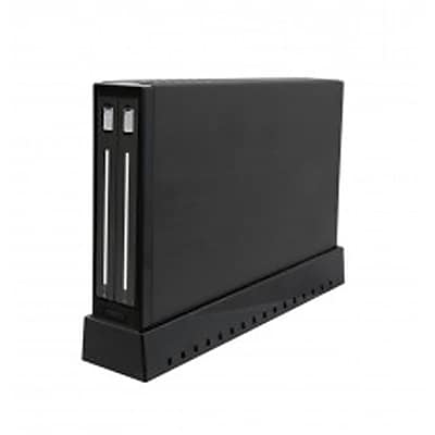 """""Syba USB 3.0 External Enclosure for 2x 2.5"""""""" SATA3 HDD or SSD - Black"""""" 2595065"
