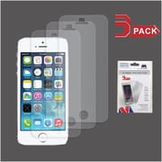 Insten 3-Pack Clear HD Screen Protector For Apple iPhone 5/5C/5S/SE