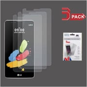 Insten 3-Pack Clear HD Screen Protector Film For LG G Stylo 2 / Stylus 2