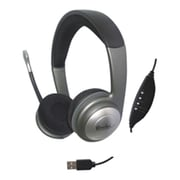 Connectland USB Interface Online Gaming Stereo Headphone with Built-in Mic