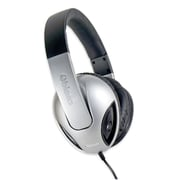 Oblanc Cobra210 NC1 2.1 Amplified Stereo Headphone with Mic Black/ Silver