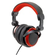 Connectland Foldable Slim Design MP3 Gaming Stereo Headset Headphone Black/Red