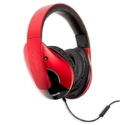Oblanc Shell210 NC3 2.1 Amplified Stereo Gaming Headphone w/Mic Red/ Red