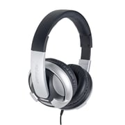 Oblanc UFO210 NC2 2.1 Amplified Stereo Gaming Headphone w/ Mic Black/ Silver