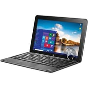 "BIT CORE+ W11046PB 11.6"" 2-in-1 Tablet with Keyboard, 4GB RAM, Windows 10 Home, Black"