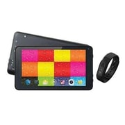 """Supersonic® SC6207FIT 7"""" Tablet with Fitness Band, 512MB RAM, Android 4.4, Black"""