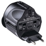 Cyberpower All-in-One Travel Adapter Plug (CYBTRA1A2)