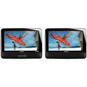 "9"" Refurbished Dual-Screen Portable DVD Player"