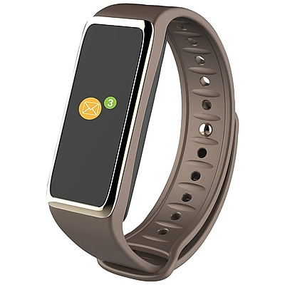 MyKronoz 813761021494 ZeFit3 HR Activity Tracker Brown Gold