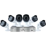 Guardian 1080p 2TB DVR with Outdoor Bullet Cameras (8-Channel, 6 Cameras)