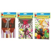 Flomo- All Occasion Gift Card Holders, Assorted Pattern, 12/Pack, (ED610)