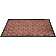 """Floortex Doortex  Ribmat Heavy Duty Indoor/Outdoor Entrance Mat 24""""x36"""" Brown(FR46090FPRBR)"""