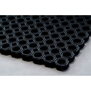 "Floortex Doortex Octomat Heavy Duty Outdoor Entrance Mat 40""x60"" Black(FR48122OCBK)"