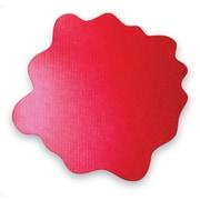 "Floortex Multi-Purpose High Chair/Play Mat for Hard Floors, Volcanic Red, 40""x40"" (FC124040PRV)"