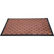 """Floortex Doortex  Ribmat Heavy Duty Indoor/Outdoor Entrance Mat 48""""x72"""" Brown(FR412180FPRBR)"""