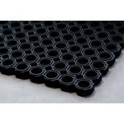 "Floortex Doortex Octomat Heavy Duty Outdoor Entrance Mat 32""x48"" Black(FR4101522OCBK)"