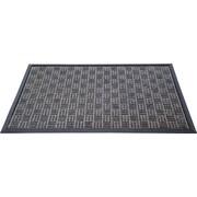 """Floortex Doortex  Ribmat Heavy Duty Indoor/Outdoor Entrance Mat 32""""x48"""" Charcoal(FR480120FPRGR)"""