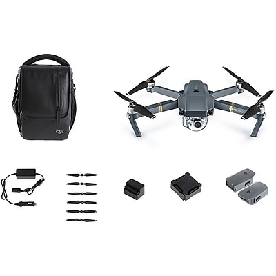"Image of """"""DJI MavIc Pro Fly More Combo Drone Black 12"""""""" x 10.6"""""""" x 10.3"""""""" (CP.PT.000642)"""""""
