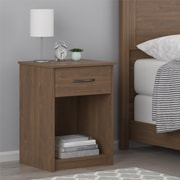 Ameriwood Home Core Nightstand, Brown Walnut (5497214COM)