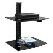 Mount-It! FloatIng Wall Mounted Shelf Bracket Stand, 2 Shelves (MI-817 )