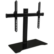 Mount-It! UnIversal Tabletop TV Stand Mount and AV MedIa Glass Shelf (MI-843)