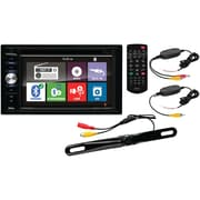 "6.2"" Double-DIN In-Dash DVD ReceIver wIth Back-up Camera & Bluetooth®"