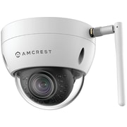 Amcrest Ip3m-956w ProHD 3.0-megapixel Wi-Fi Ip Dome Camera (white)