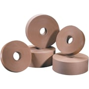 "Tape Logic® #6000 Non Reinforced Water Activated Tape, 3"" x 600', Kraft, 10/Case"