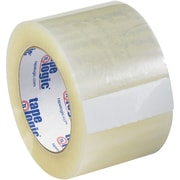 "Tape Logic® #122 Quiet Carton Sealing Tape, 2.0 Mil, 3"" x 110 yds., Clear, 6/Case"