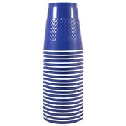 JAM Paper® Plastic Cups, 12 oz, Blue, 200/box (2255520701b)