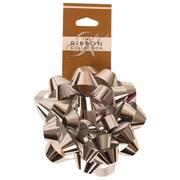 "JAM Paper® Gift Bows, 3.5"" Diameter, Silver , 12/pack (83621406)"