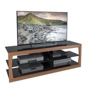 "CorLiving Santa Lana TV Stand for up to 70"" TVs, Faux Teak (TSL-323-T)"