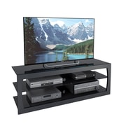 "CorLiving Santa Lana TV Stand for up to 65"" TVs, Black Matte (TSL-203-T)"