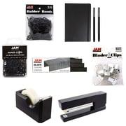 JAM Paper® Complete Desk Kit, Black, 8/pack (338756Cbk)
