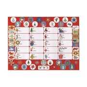 JAM Paper® Christmas Label Stickers, Xmas Design, 10 x 13, Whimsical To/From, 134/pack (2209916343)