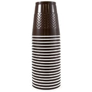 JAM Paper® Plastic Cups, 12 oz, Brown, 200/box (255525243b)