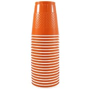 JAM Paper® Plastic Cups, 12 oz, Orange, 200/box (2255520706b)