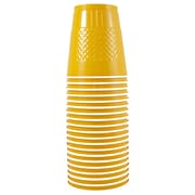 JAM Paper® Plastic Cups, 12 oz, Yellow, 200/box (255523919b)